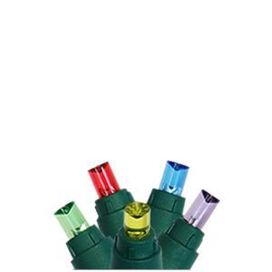 Multi-colored 5mm LED light string