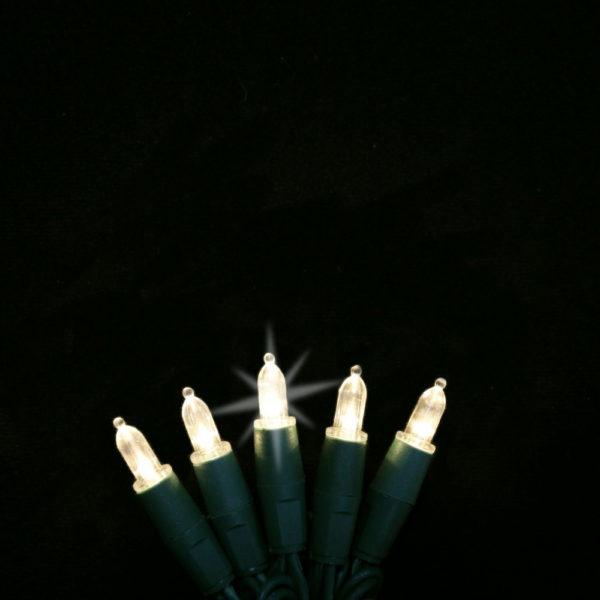 Warm white twinkling M3 LED string lights
