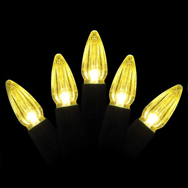 Yellow C3 LED light string