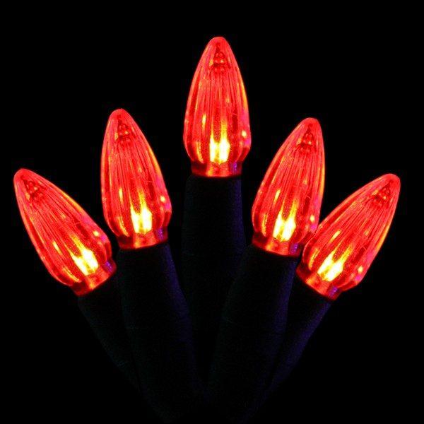 Red C3 LED light string