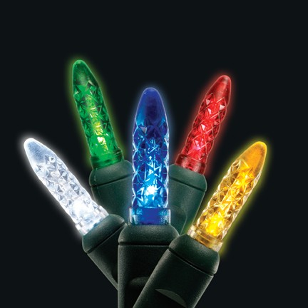 Multi-colored M5 Mini LED light string