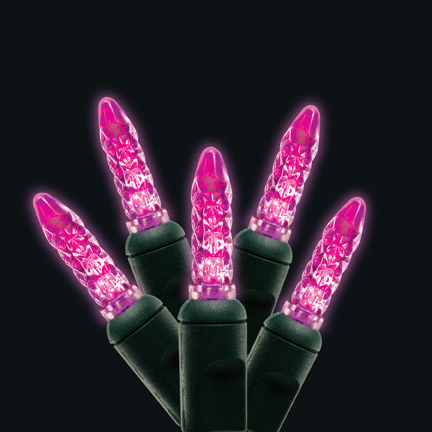 Pink M5 Mini LED light string