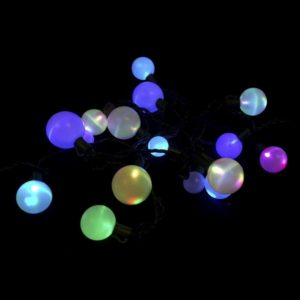 Multi-colored LED deco light string