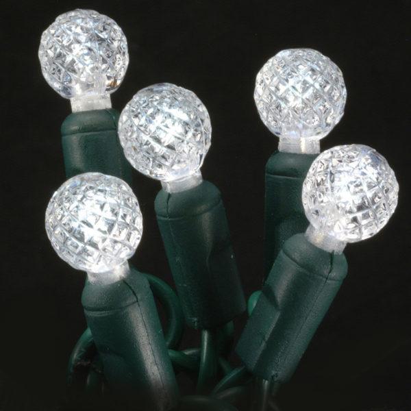 Pure white G12 LED light string