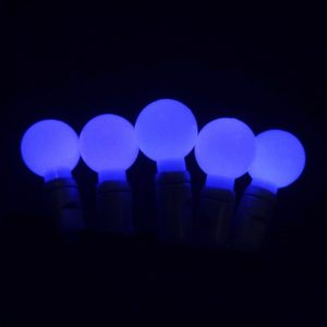 Blue G20 LED glow light string