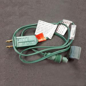 Power cord for rectified commercial LED light strings